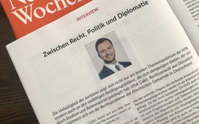 """NJW: """"Zwischen Recht, Politik und Diplomatie"""""""