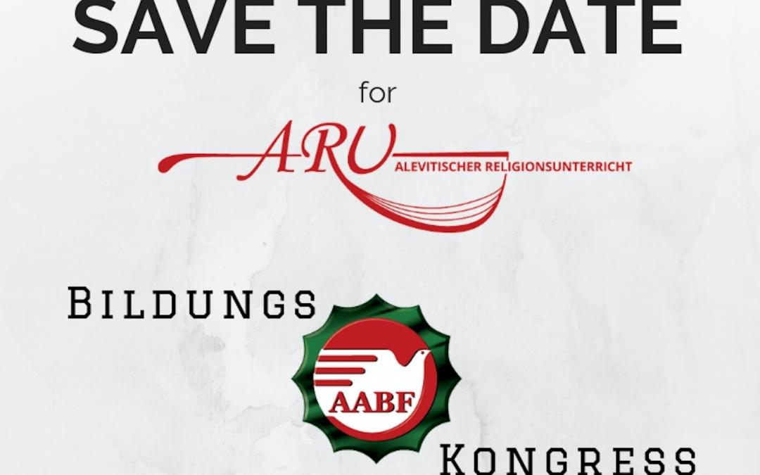 Save The Date: Bildungskongress der Alevitischen Gemeinde Deutschland e.V.