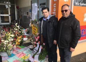 Gedenken des AABF-Vorstandes in Haunau
