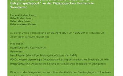 Abi- und Studi-Treff zu den Alevitischen Studiengängen
